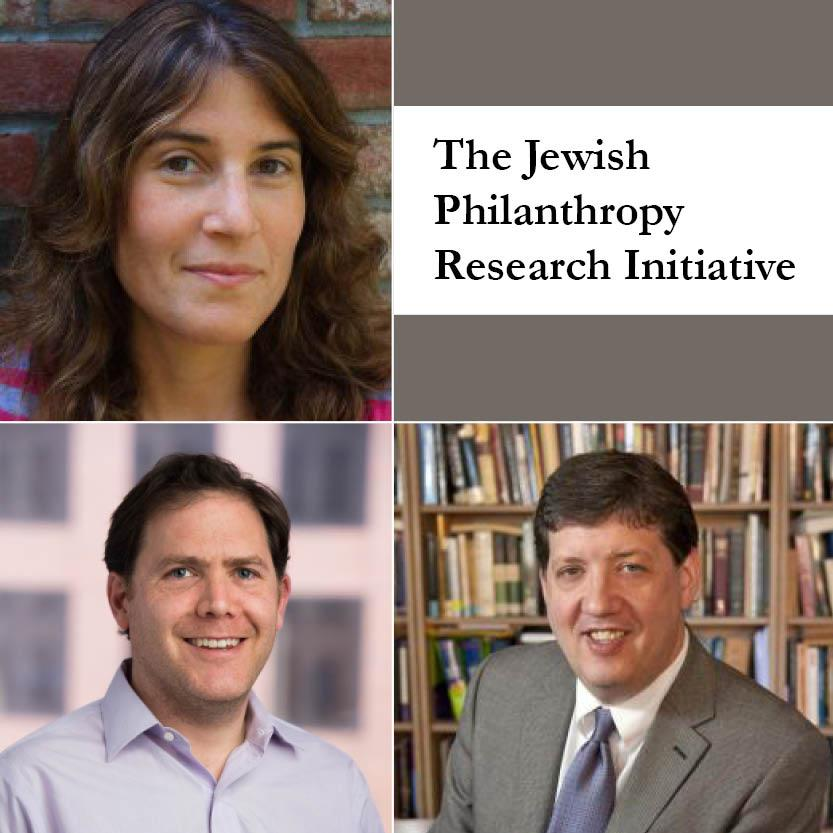 Announcing The Jewish Philanthropy Research Initiative