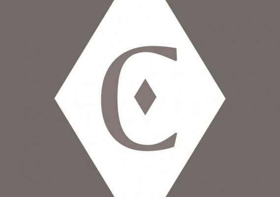 Katz Center graphic C in diamond