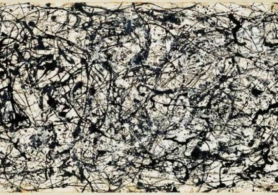 (Jackson Pollock, 26A Black and white, 1948)